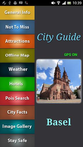 Basel Offline Travel Guide