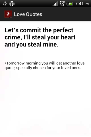 Free Daily Love quotes friends