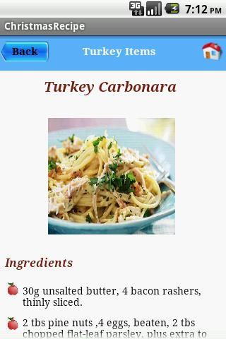 Christmas Recipes- screenshot