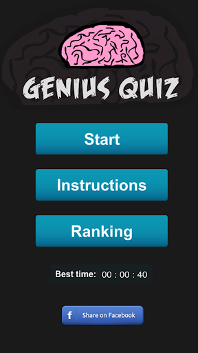 Genius Quiz 3.0.8 screenshots 1