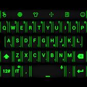 Theme TouchPal Neon Green