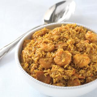 Curried Lemongrass Shrimp & Brown Rice