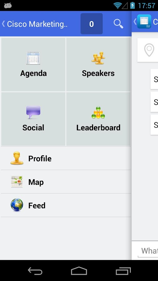 Cisco Global Events - screenshot