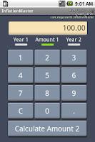 Screenshot of InflationMaster