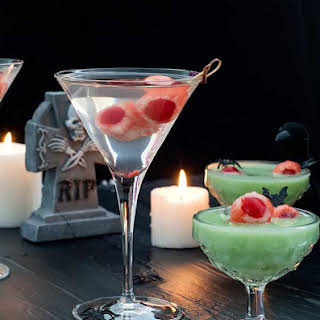 Lychee Eyeballs and Halloween Cocktails.