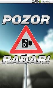 Pozor RADAR!!! - screenshot thumbnail