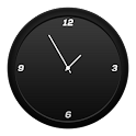 Flyer Clock Skin Black icon