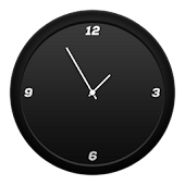 Flyer Clock Skin Black