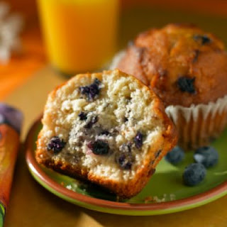 Fantastic Lemon-Blueberry Muffins