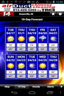 14FirstAlert Weather TriState - screenshot thumbnail