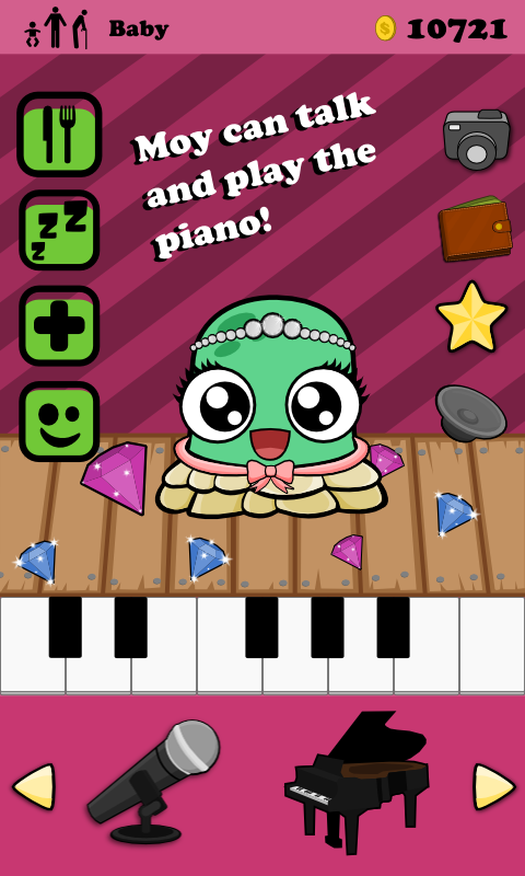Moy - Virtual Pet Game - screenshot