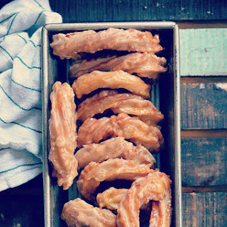French Canadian Crullers (Maple Crullers)