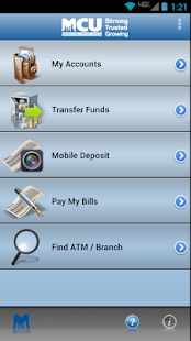 NYMCU Mobile Banking- screenshot thumbnail