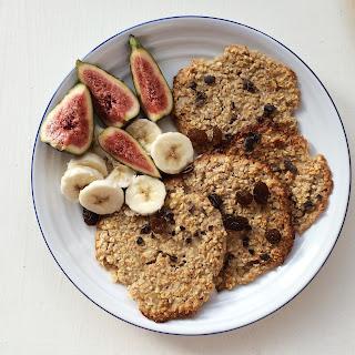 Vegan Baked Oatmeal Pancakes