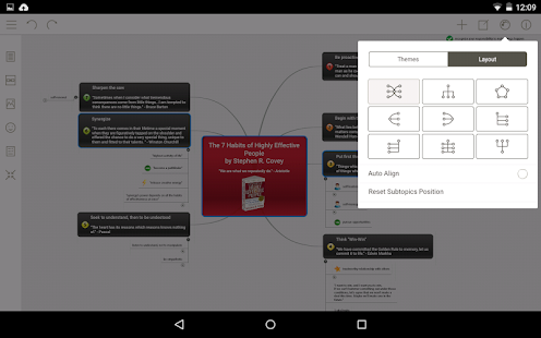 Mindomo (mind mapping)- screenshot thumbnail