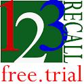 123recall.free.trial logo