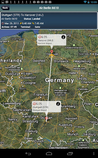 Hannover Airport+FlightTracker