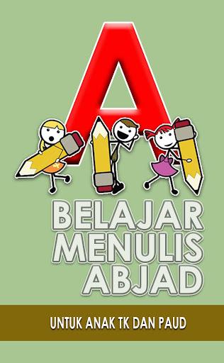 Belajar Menulis Abjad