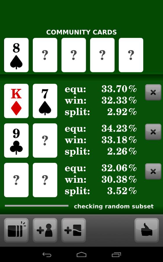 Pokercalculator