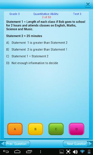 QVprep3:数学英語グレード3|玩教育App免費|玩APPs