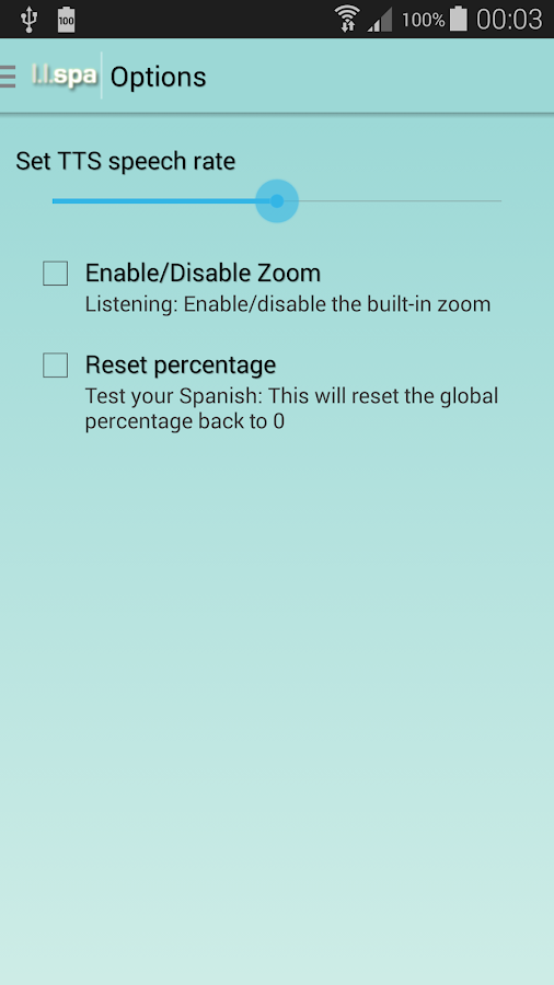 Learn Languages: Spanish- screenshot