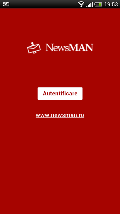 NewsmanApp- screenshot