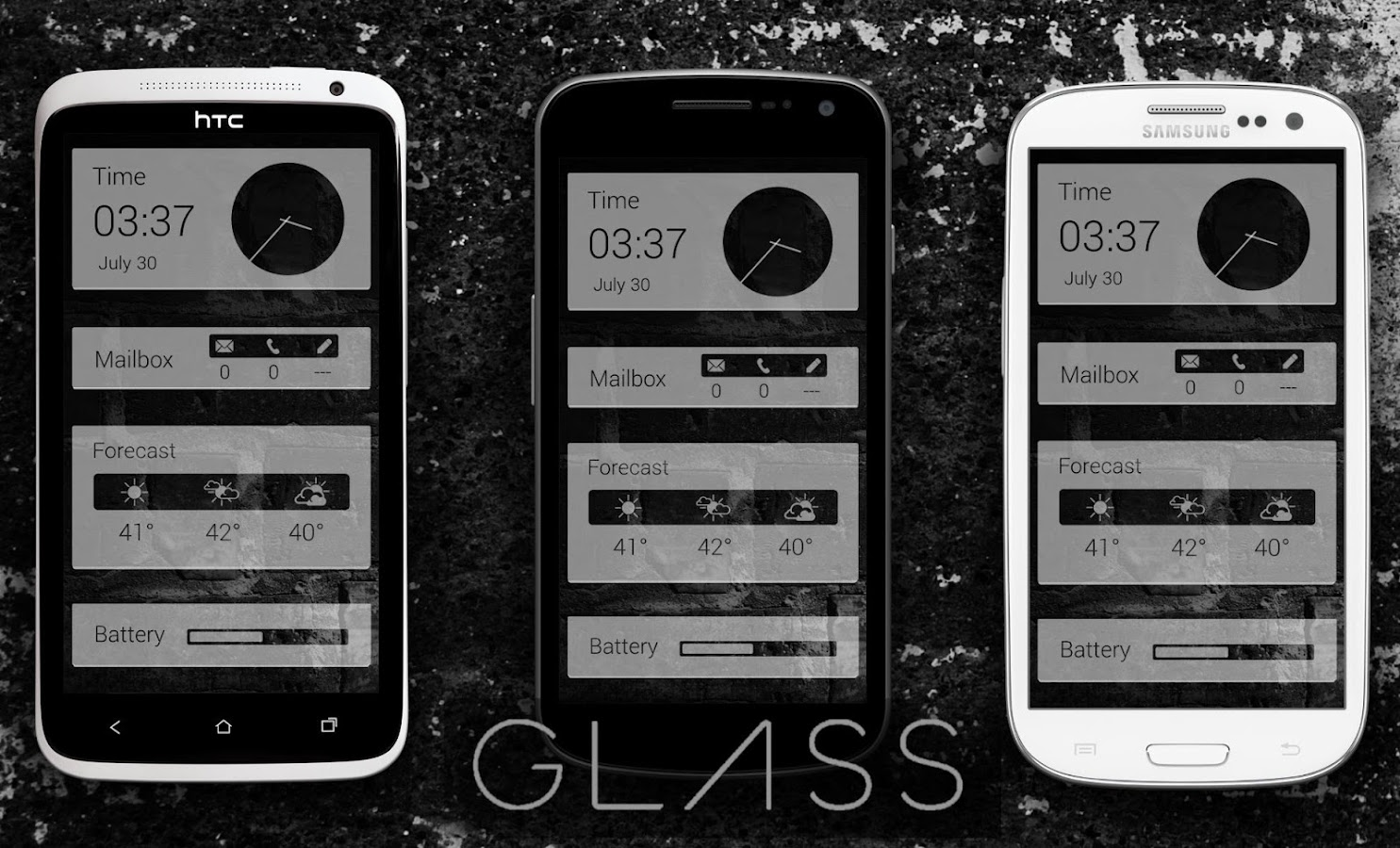 Now Glass UCCW - screenshot