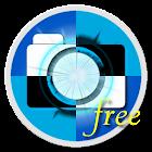Cámara sintética fotos libre icon