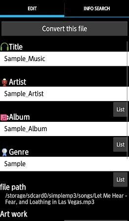 TK Music Tag Editor 7.1.7 screenshot 393891