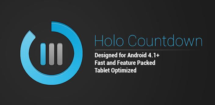 Holo Countdown v3.0.6.1 Apk Full App Zippyshare Download