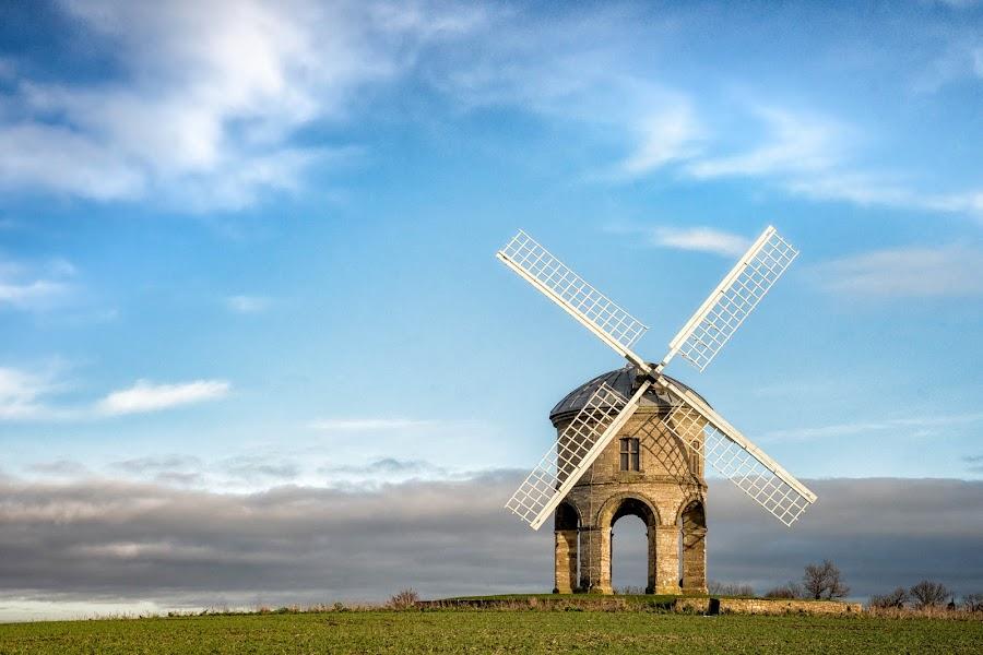 chesterton christmas morning 1 by Alan Ranger - Landscapes Prairies, Meadows & Fields ( warwickshire, sony, algenon, chesterton, www.alanranger.com, chesterton windmill, alan ranger )