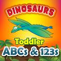 Toddler ABCs & 123s Dinosaurs logo
