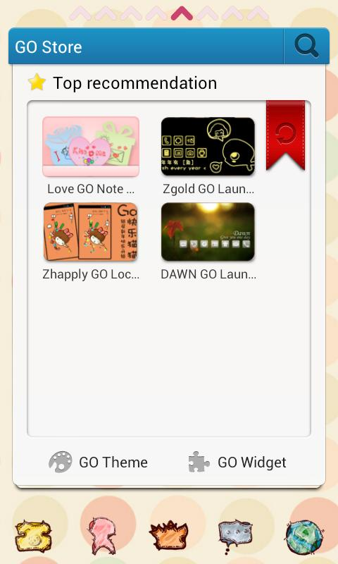 ZBaby GO Launcher EX - screenshot