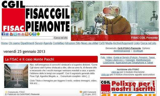 FISAC CGIL Piemonte News