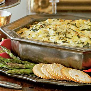 Hot Spinach-Artichoke Dip.