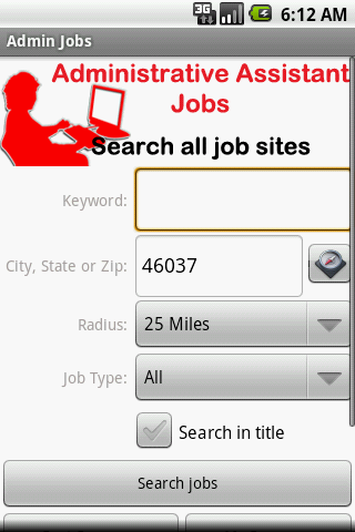 Administrative Assistant Jobs - screenshot