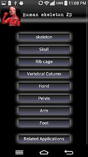Human bones lite - screenshot thumbnail