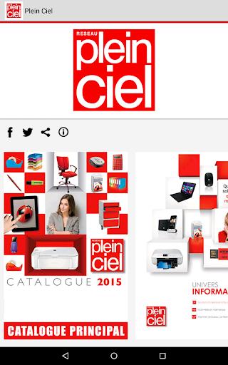 Plein Ciel - Catalogue 2015