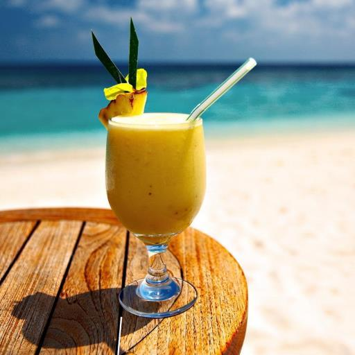 Tropical Drink Live Wallpaper