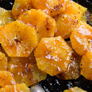 Caramelized Oranges Dessert.