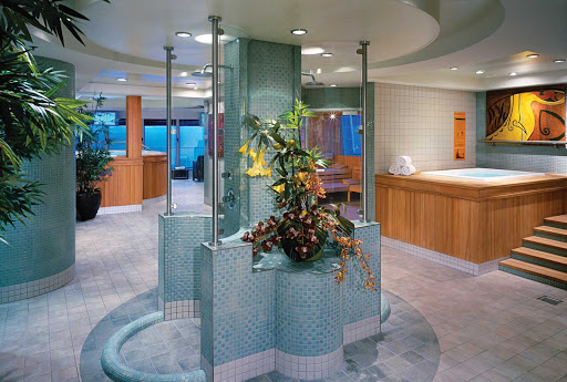 Norwegian-Jewel-Thermal-Suite - Enjoy being pampered at Norwegian Jewel's Bora Bora Health Spa and Beauty Salon thermal suite.