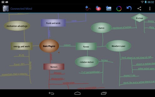 Connected Mind (mind mapping) - screenshot thumbnail