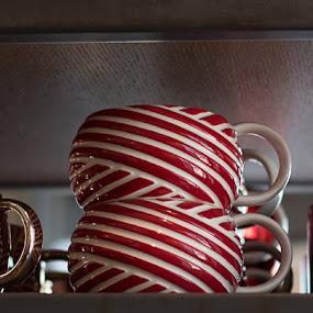 Coffee Cups by Angela Nathaniel - Public Holidays Christmas ( #coffee #starbucks #coffeecups #holiday #holidaydisplay, coffee, pwc, pwccoffee )