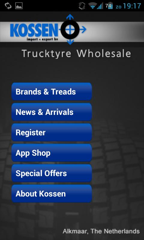 TruckTyres- screenshot