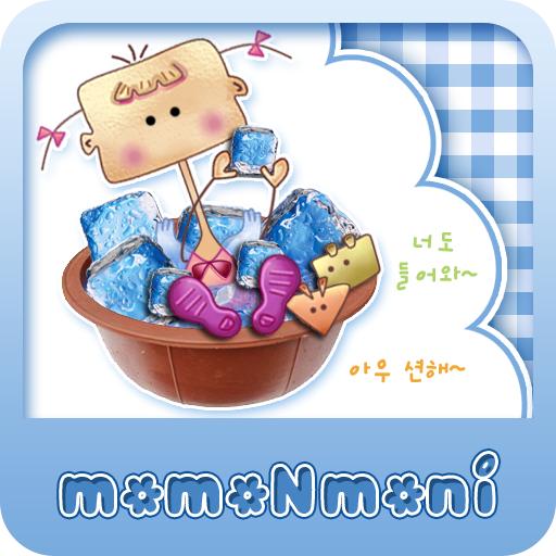 NK 카톡_모모N모니_고무다라 카톡테마 娛樂 App LOGO-APP試玩