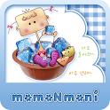 NK 카톡_모모N모니_고무다라 카톡테마 icon