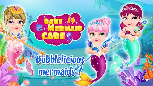 玩休閒App|婴儿护理美人鱼免費|APP試玩