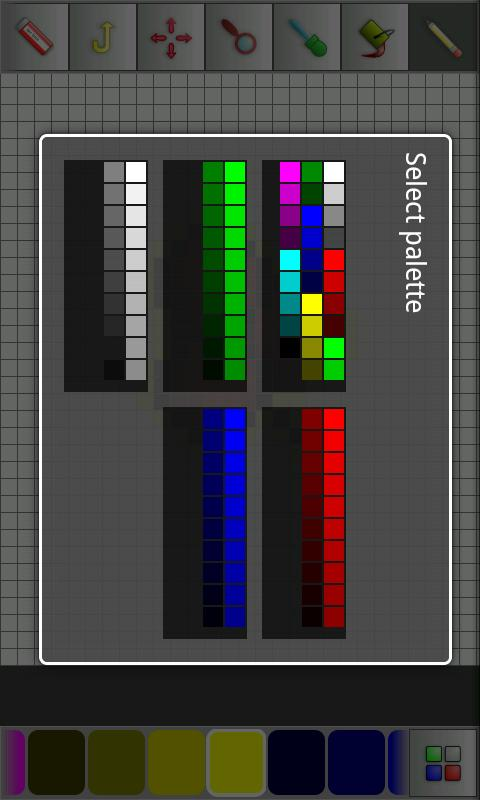 Pixel Art editor - screenshot