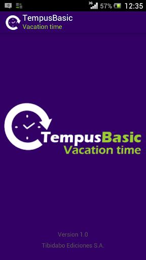 Free TempusBasic Vacation Time