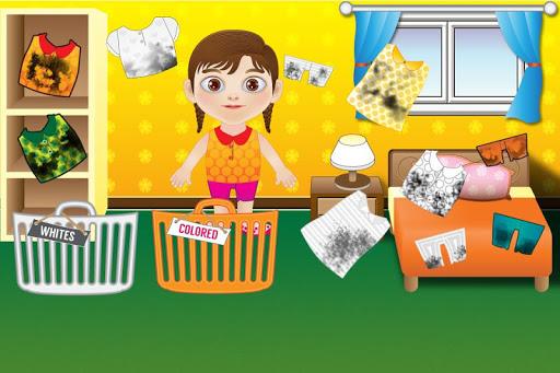 Laundry Machine Kids Games
